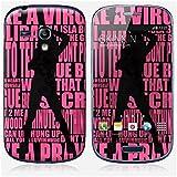 Sticker Samsung Galaxy S3 mini de chez Skinkin - Design original : Madonna typo par Aurélie Scour