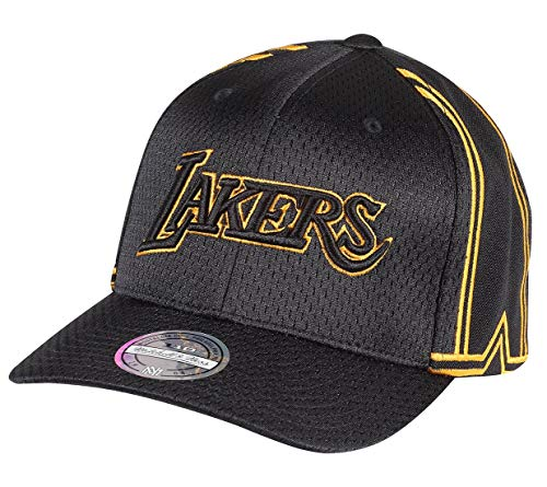 Imagen de mitchell & ness 110 city series snapback los angeles lakers  , color negro