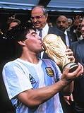 Maradona foto della ristampa 40x 30cm