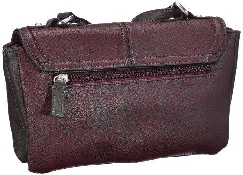 JETTE Borsa Messenger, Miss Cooper Small Cross Bag, viola - Violett (purple 350), 4030001363 Violett (purple 350)