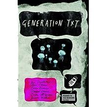 Generation Txt by Joe Dunthorne (Illustrated, 1 Oct 2010) Paperback