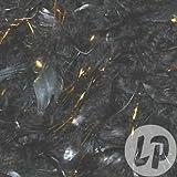 Lot / Set von 12 Stück - Boa 50gr 1.90m black & gold