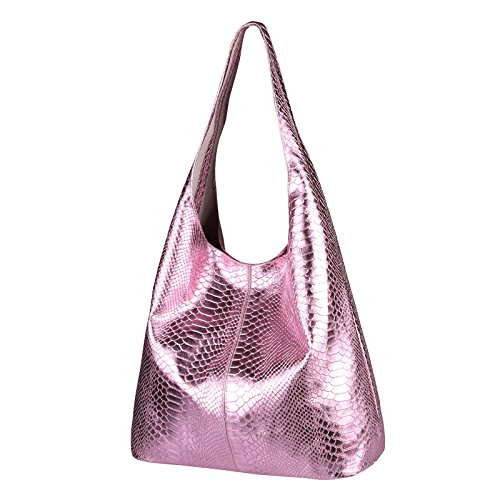 OBC Only-Beautiful-Couture, Borsa tote donna Rosa Rosa (Schlange) ca.: 43x32x17 cm (BxHxT) Rosa (Schlange)