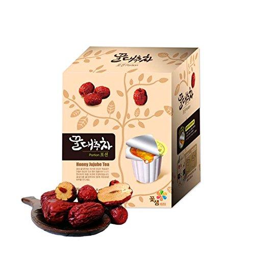 CochSsam Cápsulas de té de azufaifo con miel, 30 unidades