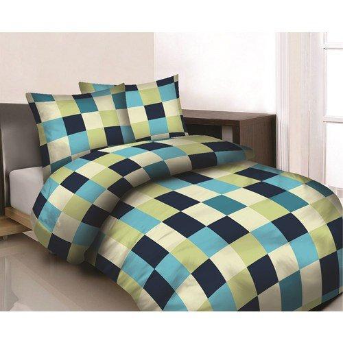 Maxi & Mini 02Prestige Mosaico Pattern Copripiumino 160x 200cm e 2federe 70x 80cm 100% cotone