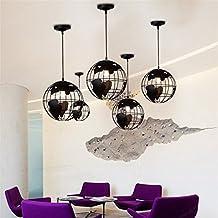 Bazaar Oficina en casa lámpara colgante moderna mapa del mundo mundo pendiente de la lámpara