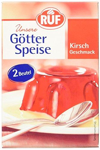 RUF Götterspeise Kirsch zum Kochen, 14 er Pack (14 x 24g)