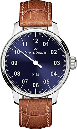 MeisterSinger No 02 AM6608N Elegante orologio da uomo Design senza tempo