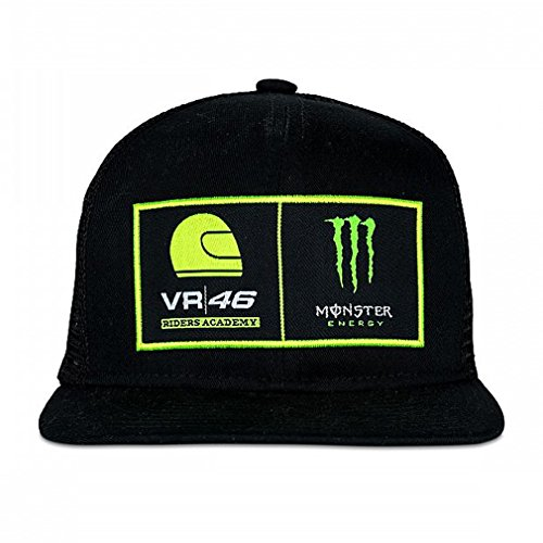 Valentino Rossi VR46 Moto GP Monster Energy Dual Adjustable Deckel Offiziell 2018