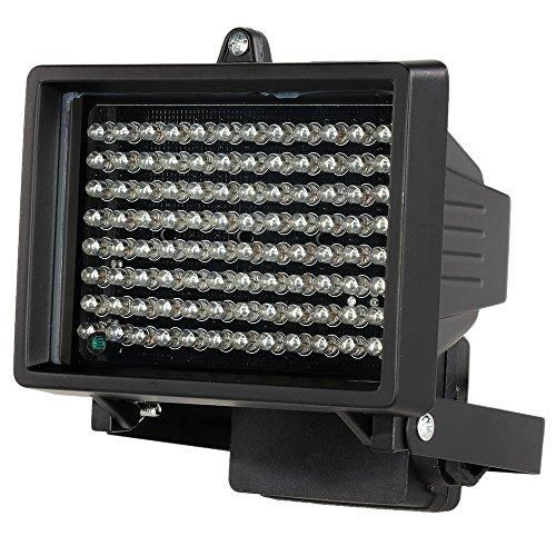 Festnight LEDs IR-Illuminator, 96 LEDs Nachtsicht Array-Infrarotlampen Wasserdicht Draussen Für CCTV-Überwachungskamera - Infrarot-strahler-lampe