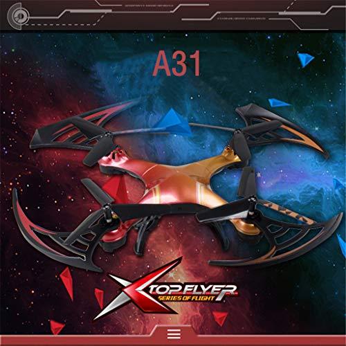 Uav drone-TianranRT Attop A31 2.4Ghz 3D Flips Altitude Hold RC Drone giocattoli volanti,Controllo remoto Nuovo fantastico Lunga resistenza,Nuovo telecomando per antenna,Rosso