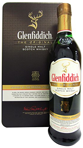 Glenfiddich Inspired by the Original Straight Malt 1963 Whisky mit Geschenkverpackung (1 x 0.7 l)