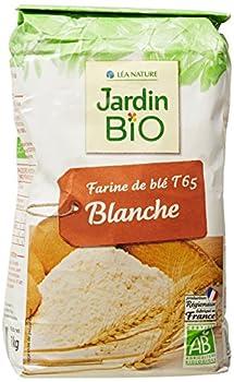 Jardin Bio Farine de Blé Blanche T 65 1 kg - Lot de 5