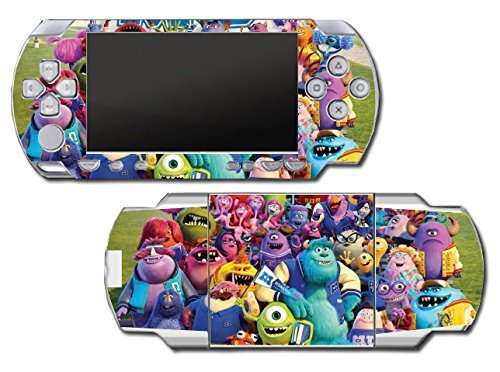 ity Mike Sulley Video Game Vinyl Decal Skin Sticker Cover for Sony PSP Playstation Portable Original Fat 1000 Series System by Vinyl Skin Designs (Sulley Monsters Inc)