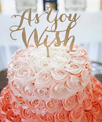 Ethelt5IV Große Gatsby Cake Topper Brüllen 20s Cake Topper Jubiläum Cake Topper wie Sie Cake Topper Hochzeitstorte Topper Gold Cake Topper wünschen