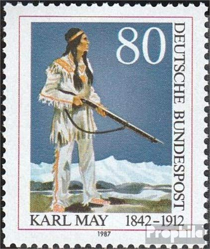 Prophila Collection BRD (BR.Deutschland) 1314 (kompl.Ausgabe) 1987 Karl May Winnetou (Briefmarken...