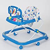 !!! Launch offer - selling at crazy price !!! Dash Classic Baby Walker with Rattles and Hanging Toys(Blue)