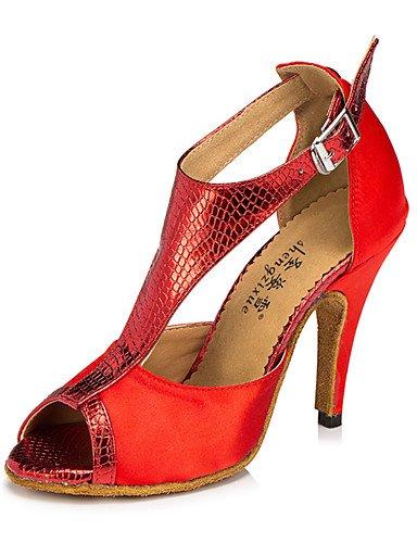 La mode moderne Non Sandales Chaussures de danse pour femmes personnalisables en cuir Cuir /latine Chaussures de Talon pratique moderne Nude