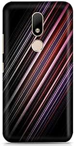 PCM High Quality Printed Designer Polycarbonate Hard Back Cover for Motorola Moto M - Matte Finish - Color Warranty- 1109