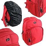 Sac à dos de transport pour Creative iRoar Go, iRoar, Muvo 2 & 2c, Woof 3 enceintes portables - en rouge - DURAGADGET