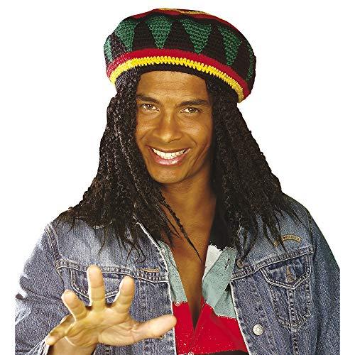 Kostüm Party Reggae - Widmann - Reggae Hut