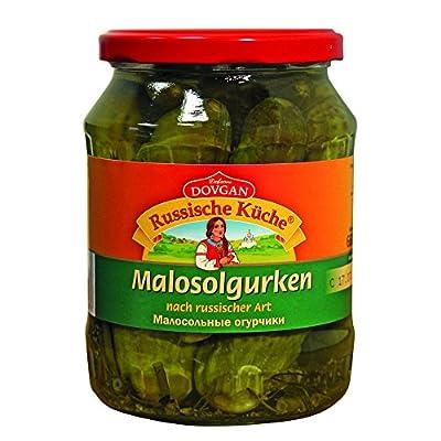 Dovgan Gurken Malosol, 12er Pack (12 x 660 g)
