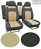 Sitzbezüge passend für . Schonbezüge ,Super Qualität, DESIGN VIP Universal. In diesem Angebot MUSTER 9-B4 (In 9Farben bei anderen Angeboten erhältlich) . Komplett besteht aus: Sitzbezügen + 5 Kopfstützen + Montagehäckchen.