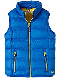 CMP - F.lli Campagnolo Daunenweste - Chaleco para niño, color azul, talla 12 años (152 cm)