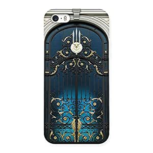 Impressive Royal Door Print Back Case Cover for iPhone 5 5S