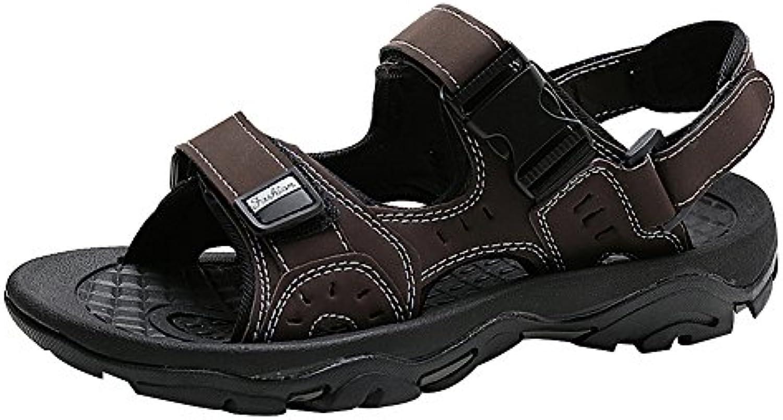 Yirenhuang Sandalias de Piel Hombre  Zapatos de moda en línea Obtenga el mejor descuento de venta caliente-Descuento más grande