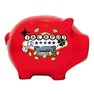 Amour Passion Jackpot Ceramic Piggy Bank