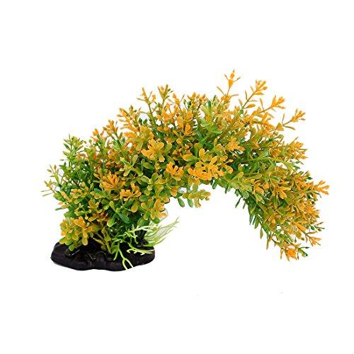 sourcingmapr-acquario-ornamento-arco-ponte-tipo-giallo-verde-plastica-subacqueo-piante