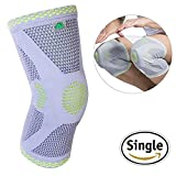 FAVIO Gel Patella Padded Knee Brace Compression Sleeve Support for Joint Pain Relief