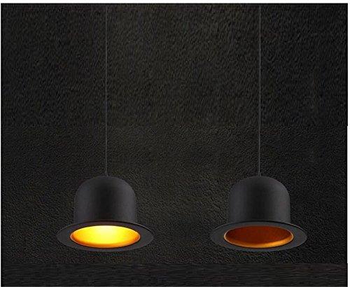Miglior lampadario American Europa Style retrò classico pendente le corde di canapa industriale Nostalgia rurale,220V,D25*18cm,luce calda,/LED2/