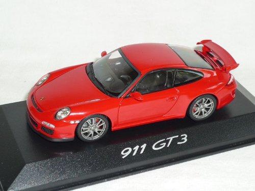 Minichamps Porsche 911 997 Gt3 GT 3 Coupe Rot 1/43 Modell Auto Modellauto