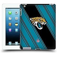 Official NFL Stripes 2017/18 Jacksonville Jaguars Hard Back Case for iPad 3 / iPad 4