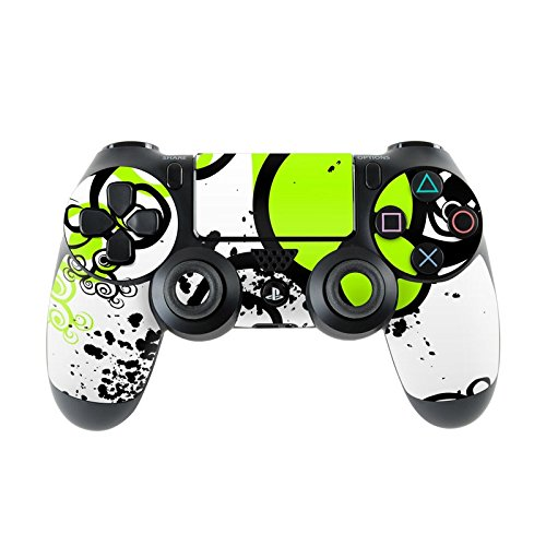 Skins4u Sony Playstation 4 Skin PS4 Controller Skins Design Sticker Aufkleber styling Set auch für Slim & Pro - Simply Green