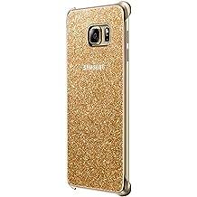 Samsung Glitter - Funda para Samsung Galaxy S6 Edge+, color dorado