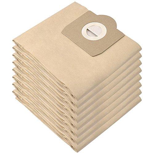 8 Bolsas de Filtros de Doble Capa para Aspiradora Kärcher WD 3, Compatible con Aspiradoras Kärcher WD 3 (Modelos WD 3, WD 3 P y WD 3 Premium) Pack Familiar de KEEPOW