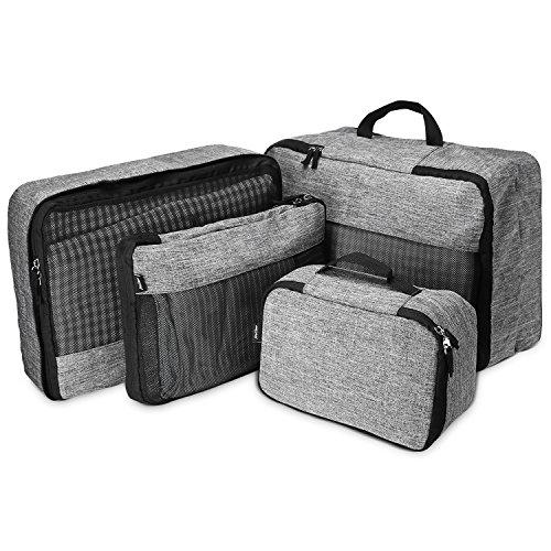 ProCase 4 Unidades de Cubos de Embalaje para Viaje, Organizador Ligero