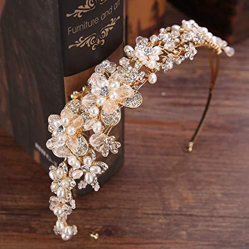 ArgoBa HG194 Corona Diamantes imitación Nupcial Diamantes