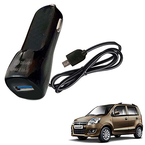 Vheelocityin Bluei 6 Month Warranty Car USB Charger Fast Charging USB Charger For Maruti Suzuki Wagon R 1.0 New