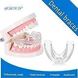 SHXP Dentist Empfiehlt 2-In-1 Multi-Funktion Kieferorthopädie Transparent Braces,Thefirststage