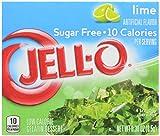 Jell - O Sugar Free Lime Gelatin Dessert (8, 5g)