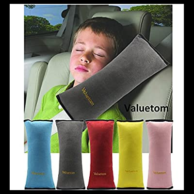 Valuetom Cotton Velvet Car Safety Seat Belt Shoulder Pad Pillow Cushion for Children - low-cost UK light shop.