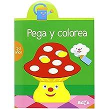 Pega Y Colorea. 2-3 Años (Color Verde) - Reedición