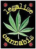 Legalise Cannabis Postkarte