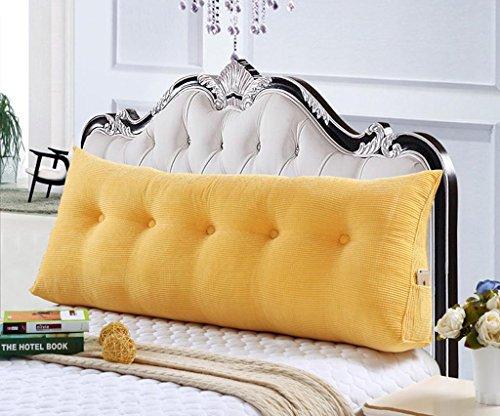 MFFACAI 120CM Baumwolle Leinwand Bett dreieckig großes Kissen Doppelte Paar Rücken Tatami Sofa Kissen Rückenlehne, 21 Diablo Wind Jacket