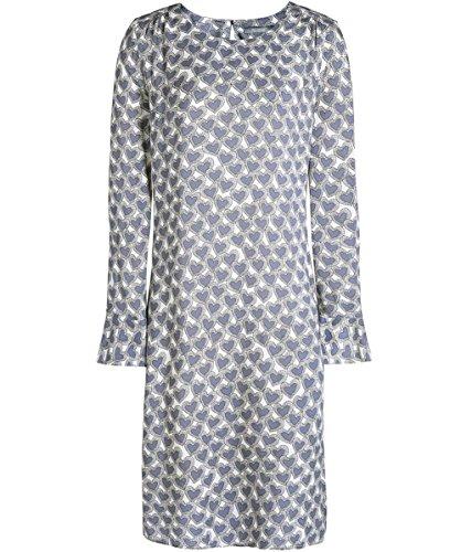 Backstage Damen Lisa-Herz-print-Kleid Grau Grau