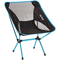 OUTAD stark und haltbarer Klappstuhl für-Angeln und Camping im Freien